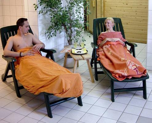 Das Landhotel Löwenbruch - Bild Sauna Ruheraum