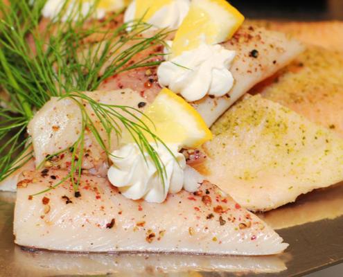 Das Restaurant »Zum Galloway« Bild - Fischplatte in einer weiteren Variation