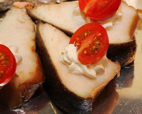 Das Restaurant »Zum Galloway« Bild - Fischplatte in einer weiteren leckeren Variante